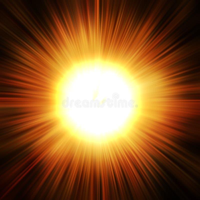 Explosión de la estrella libre illustration