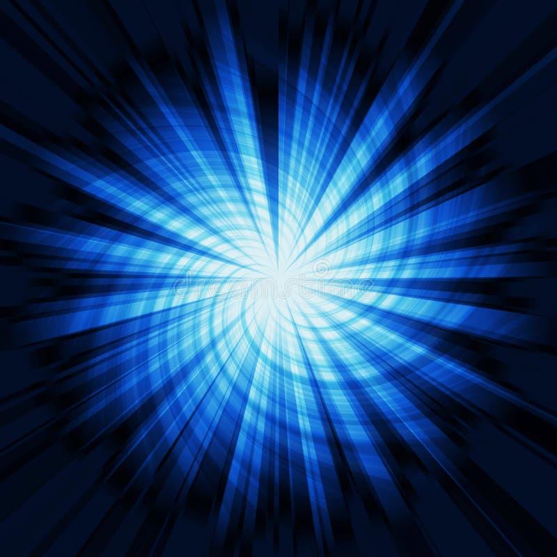 Explosión de la estrella stock de ilustración
