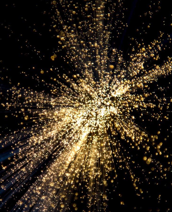 Explosión de la luz blanca imágenes de archivo libres de regalías