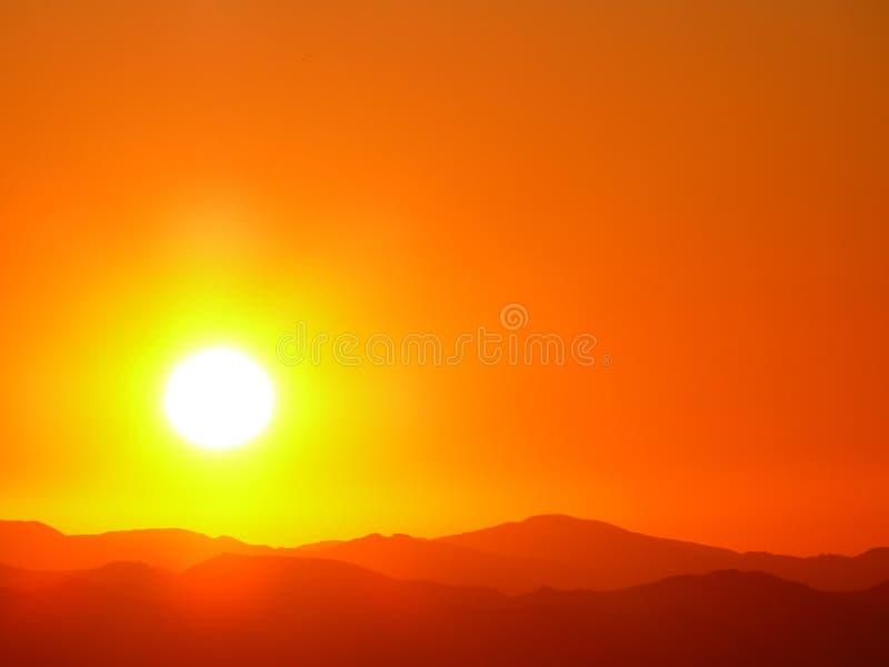 Explosión de Sun foto de archivo libre de regalías