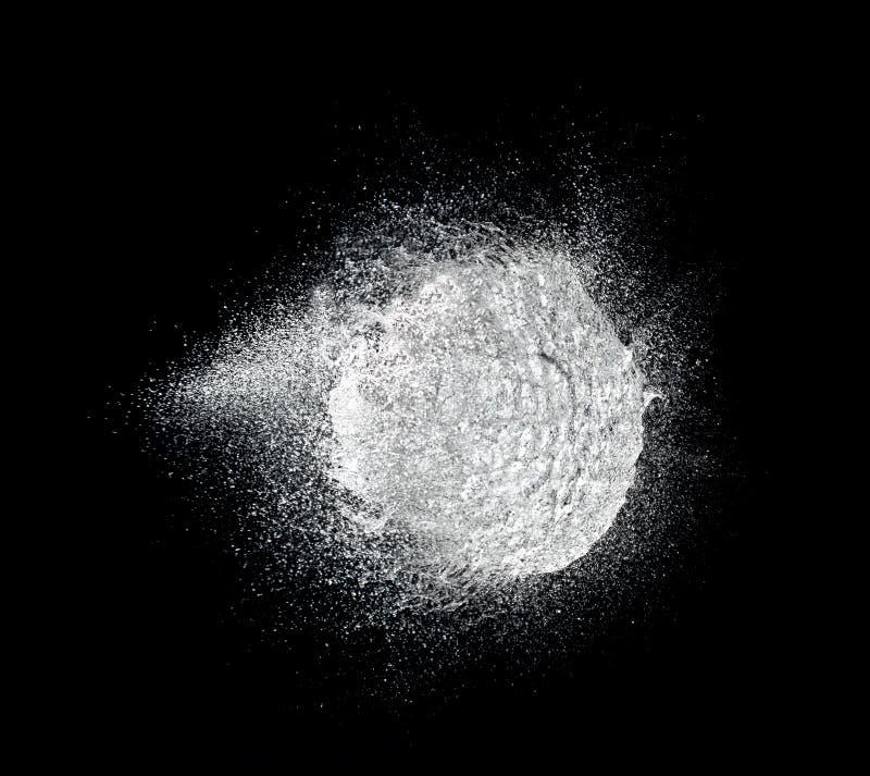 Explosión del agua fotografía de archivo