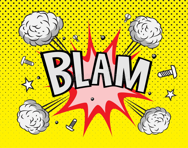 Explosión del cómic libre illustration