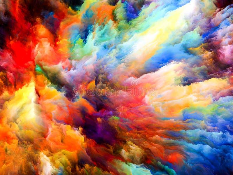 Explosión del color libre illustration