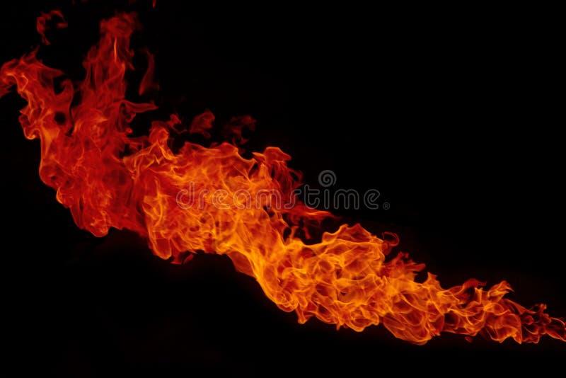 Explosión del fuego fotografía de archivo