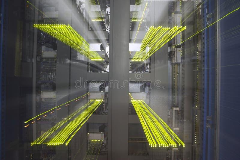 Explosión del LED imagen de archivo