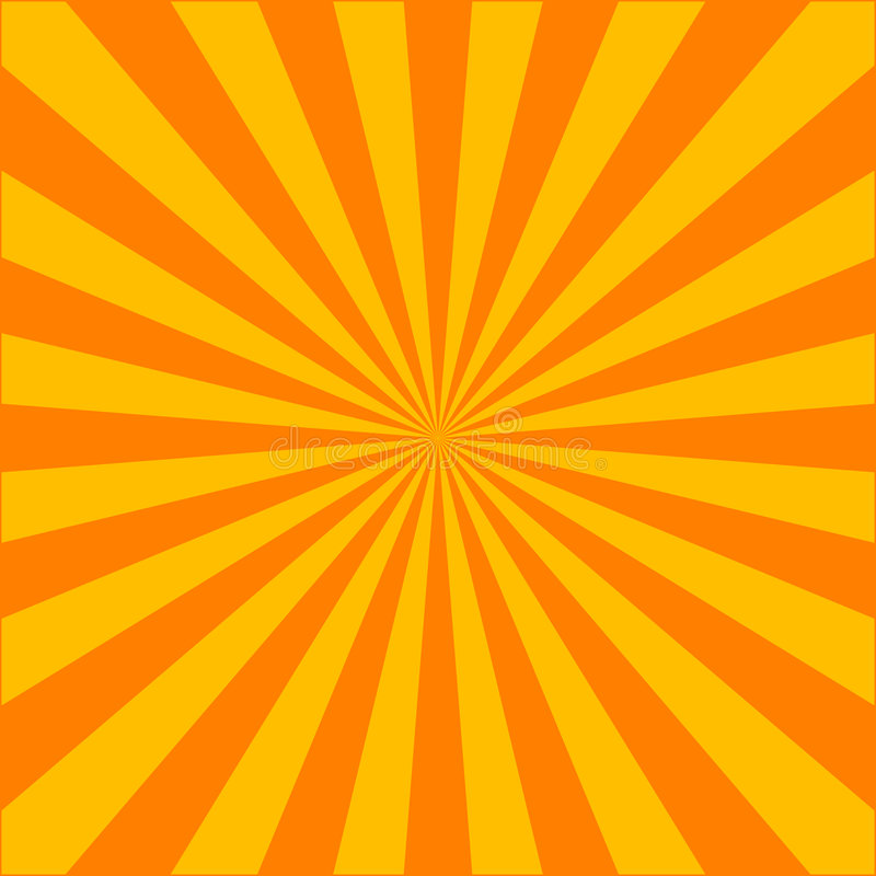 Explosión del rayo ilustración del vector