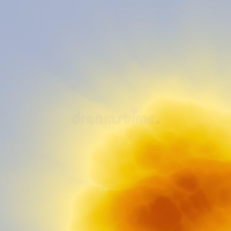 Explosión, fuego y explosión abstraiga el fondo Modelo moderno Ilustración del vector para su agua dulce de design stock de ilustración
