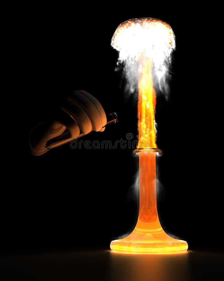 Explosión química libre illustration
