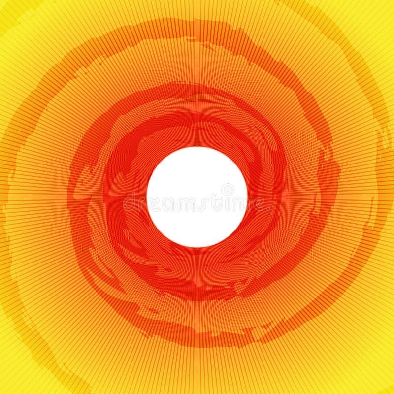 Explosión Ray Background de Sun libre illustration