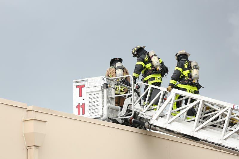 Explosie bij Inspectoraat Amerika een bedrijf in corporexpark in Tamper, FL 8 oktober, 2018 een Mens was brandwond met een mogeli stock afbeeldingen