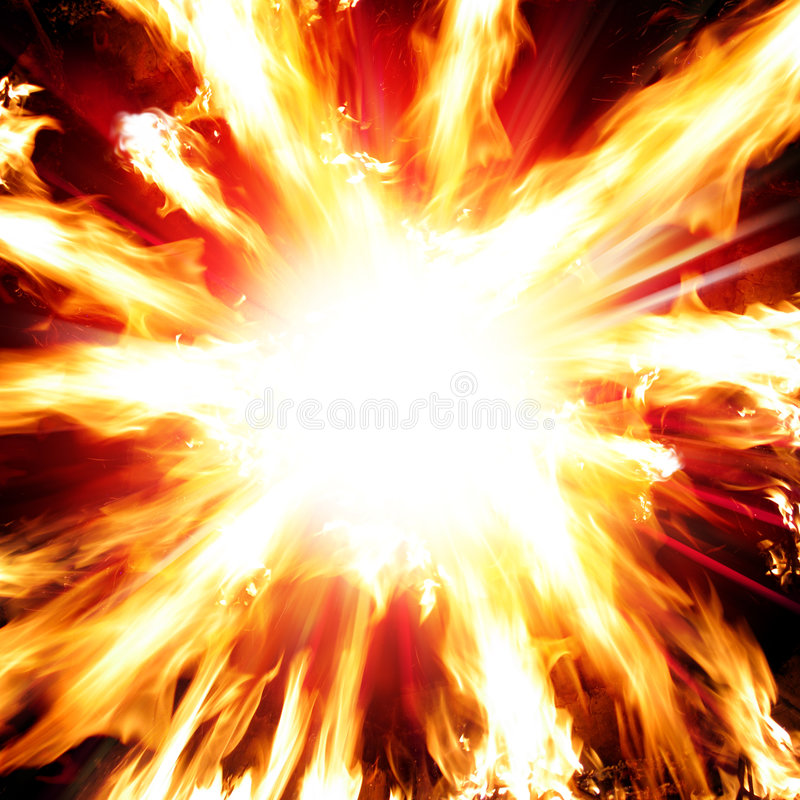 explosion arkivfoton