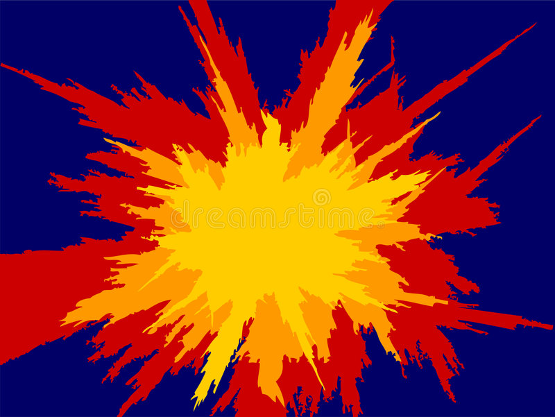 Download Explosion 2 stock illustration. Image of illustration, cartoon - 506795