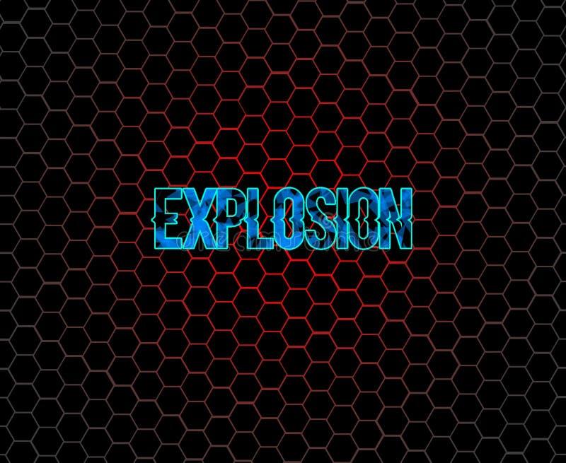 Explosion lizenzfreies stockfoto