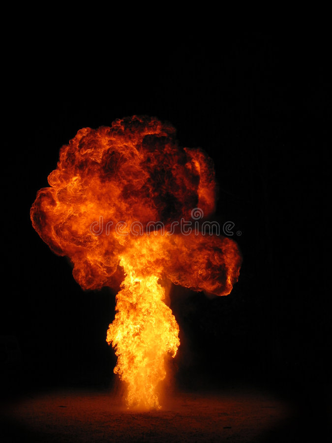 explosion royalty free stock image