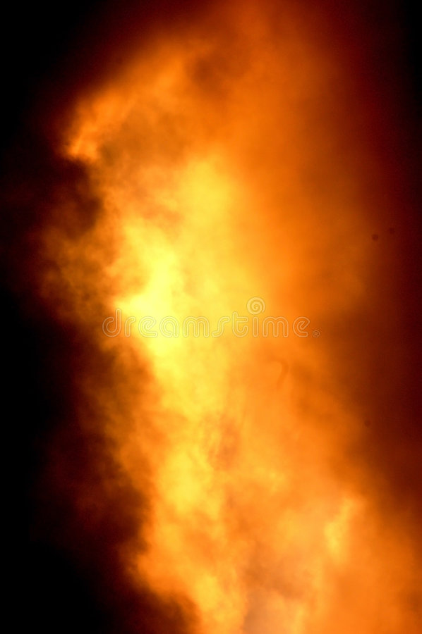 Explosion d'incendie image stock