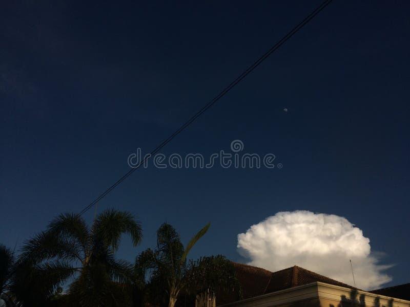 Explosion de ciel image libre de droits