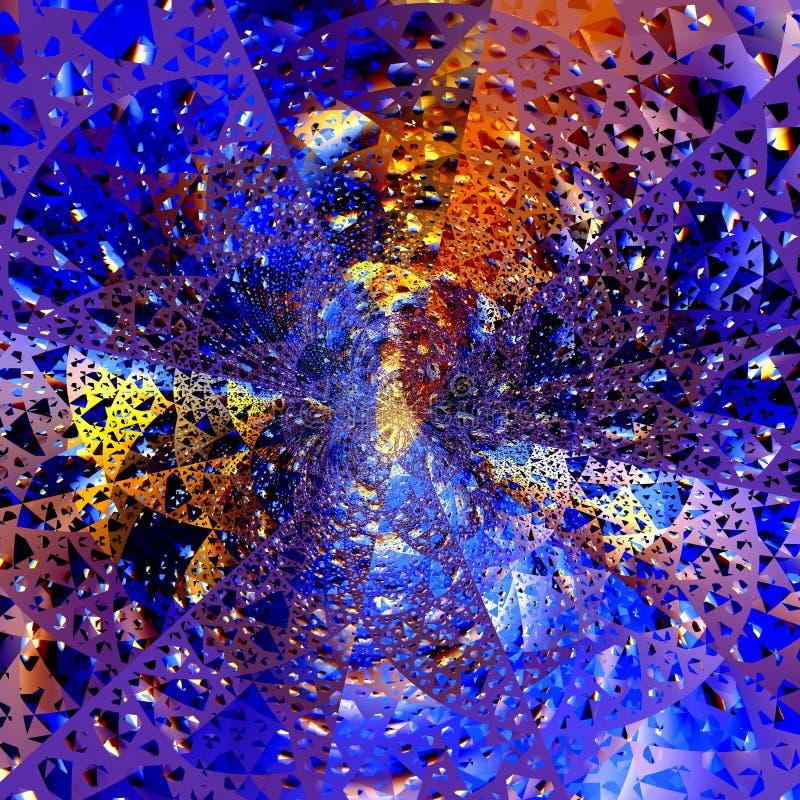 Explosion de Digital photographie stock libre de droits