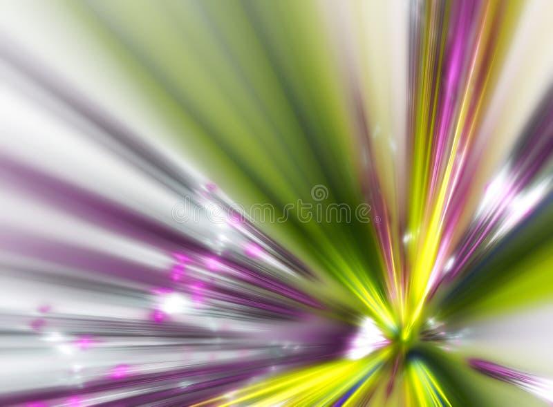 Explosion de fractale illustration de vecteur