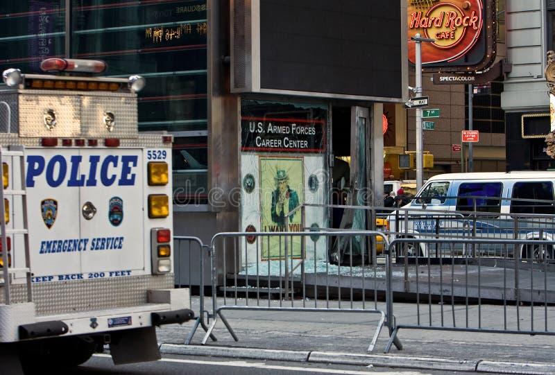 Explosion de New York photographie stock