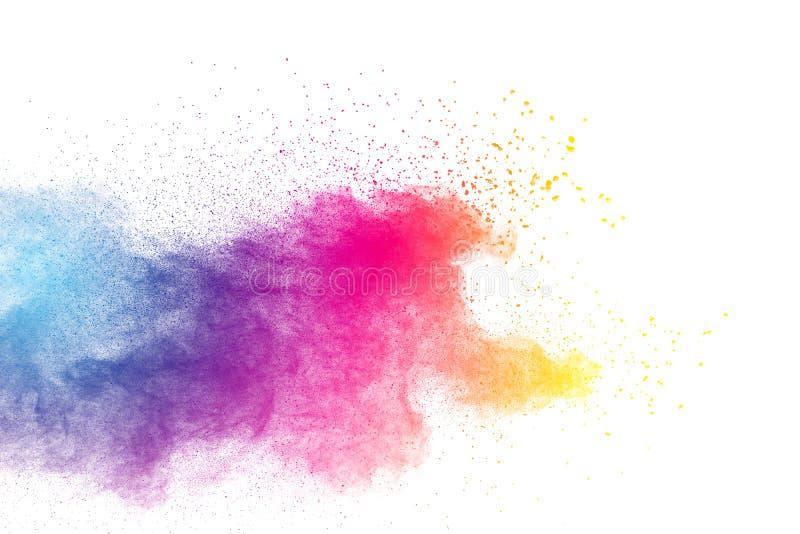 explosion de poudre de couleur photo stock image du. Black Bedroom Furniture Sets. Home Design Ideas