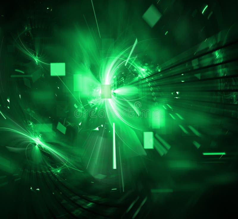 Explosion Digital-Techno lizenzfreies stockfoto