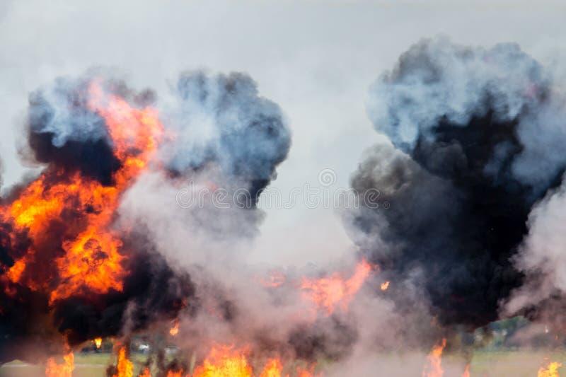 Explosion excessive photo libre de droits