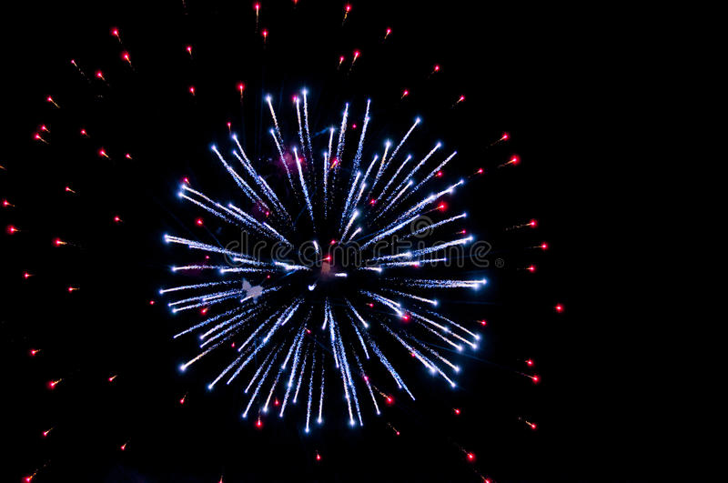 Download Explosion of fireworks stock photo. Image of party, explosion - 17913318