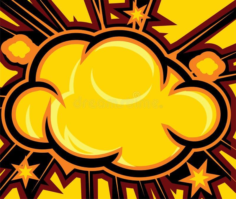 Explosion illustration libre de droits