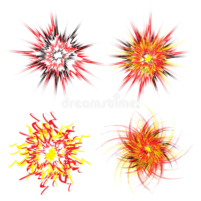 Download Explosion star stock vector. Image of magic, dynamite - 9063179