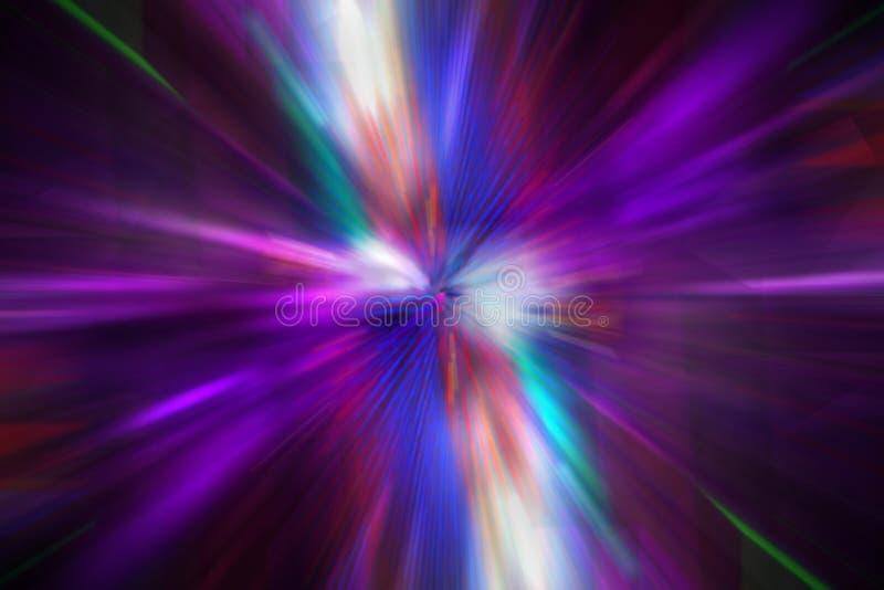 Explosion violette photographie stock libre de droits