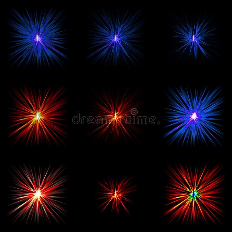 explosionen vektor abbildung