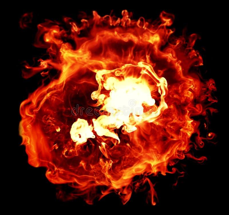 explosioner royaltyfri bild
