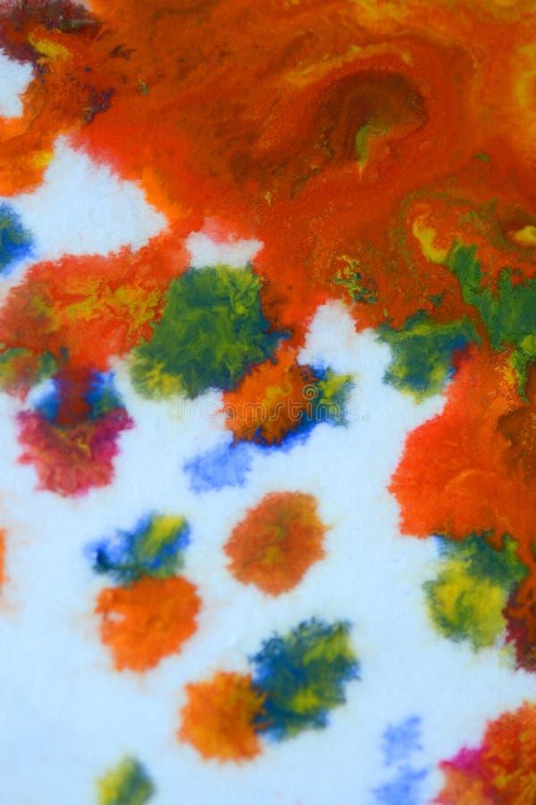 Explosiones de la pintura multicolora imágenes de archivo libres de regalías