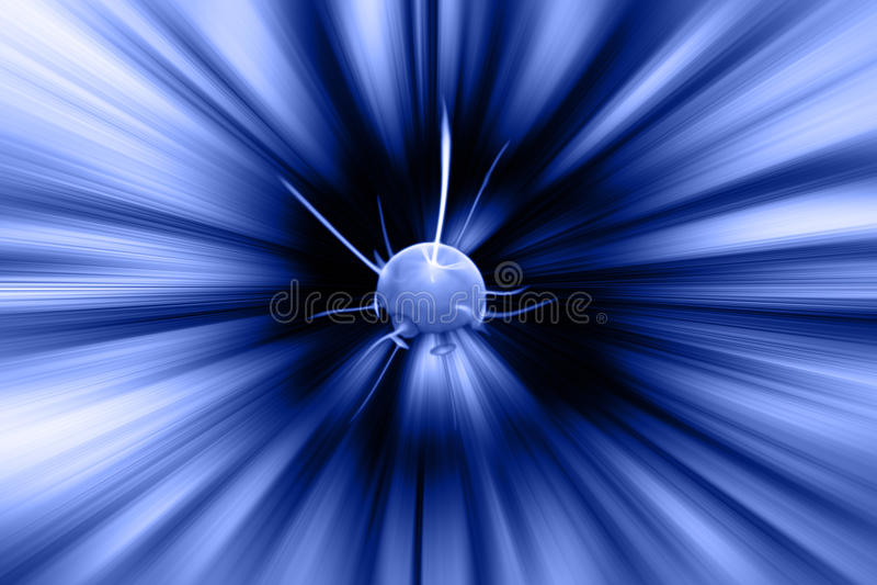 explosionplanet vektor illustrationer