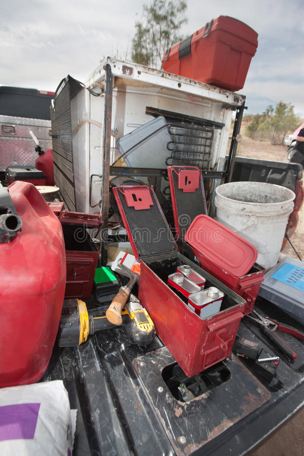Explosive Powder Containers