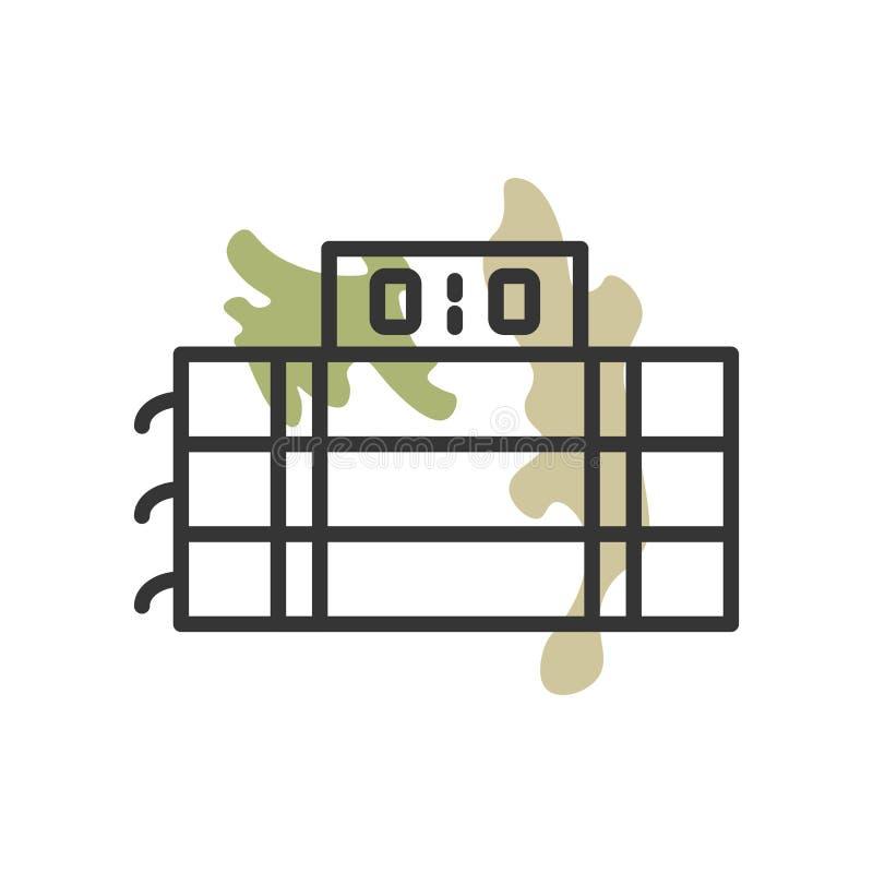 Explosives Ikonenvektorzeichen und -symbol lokalisiert auf weißem Hintergrund, explosives Logokonzept stock abbildung