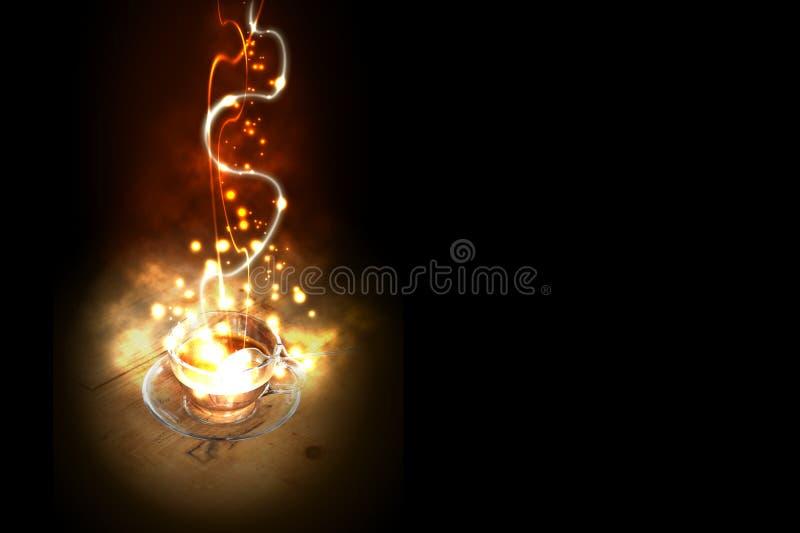 Download Explosivo del café imagen de archivo. Imagen de burning - 41905003