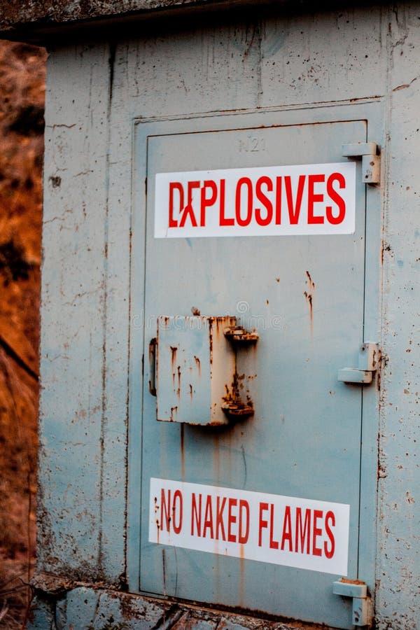 explosivos fotos de archivo
