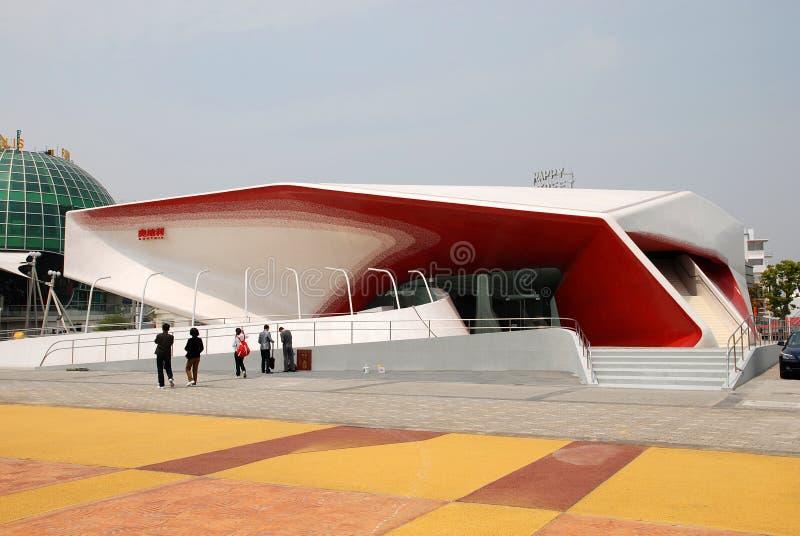 EXPO 2010 de pavillon de l'Autriche - la topologie du son photos stock