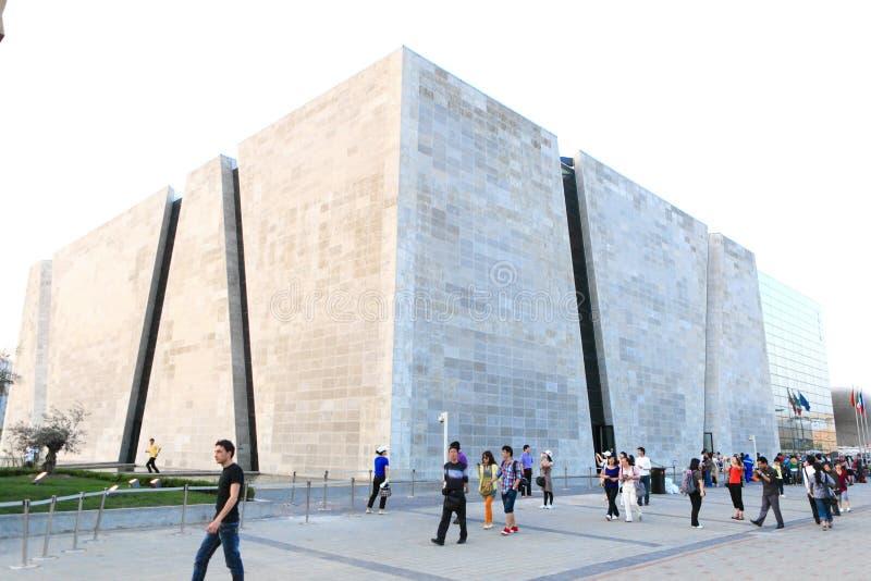 Expo 2010 di Schang-Hai immagini stock libere da diritti