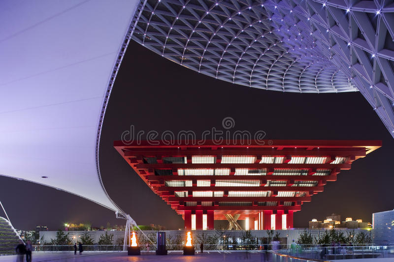 Download EXPO 2010 Shanghai editorial photography. Image of lights - 15665017