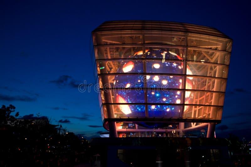 Expo 2010 Shanghai - het Paviljoen van Taiwan stock fotografie