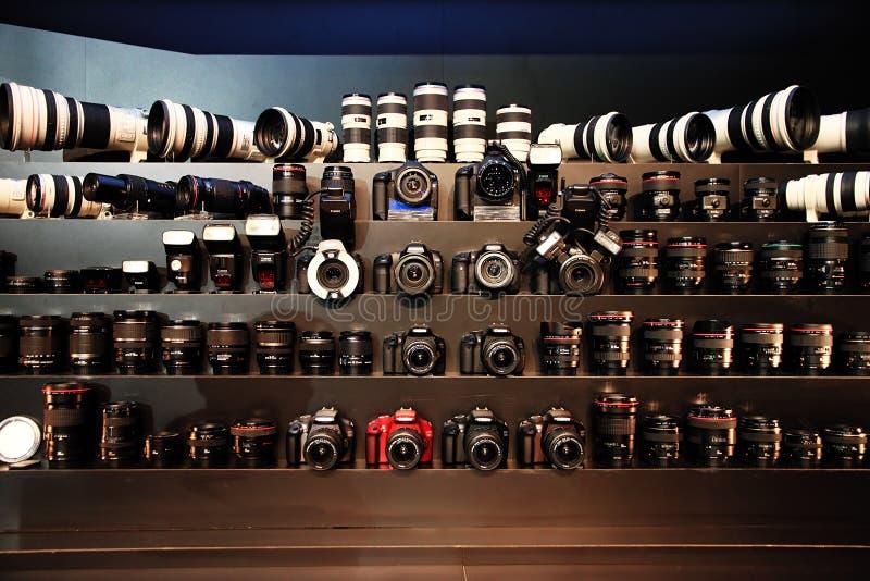 Expo 2011 de Canon fotografia de stock