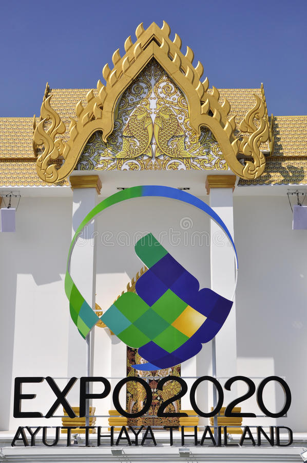 Download Expo 2020 in Ayutthaya editorial stock photo. Image of theme - 25955708