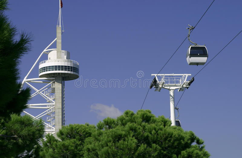 Download Expo 5 stock photo. Image of portugal, cable, expo, tagus - 19992348