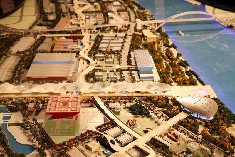 EXPO-AXIS, expo Shanghai 2010 China fotografia de stock royalty free