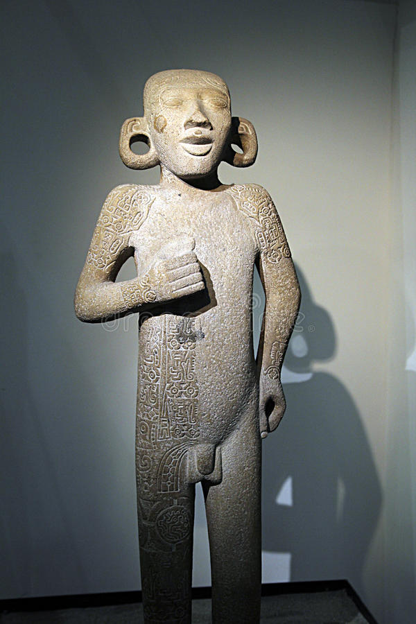 Expo azteca immagine stock libera da diritti