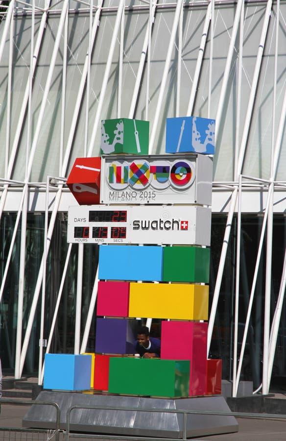 EXPO brama fotografia royalty free