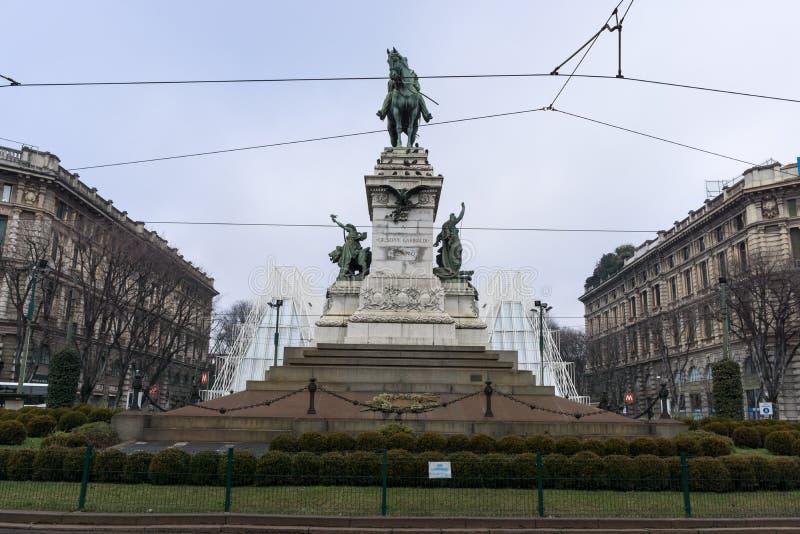 EXPO brama w Milan zdjęcia royalty free