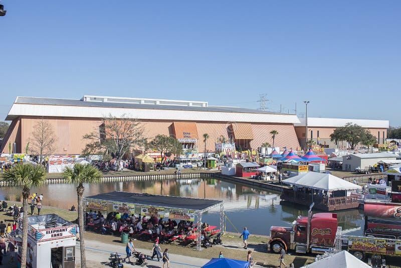 Expo Corridoio, zone fieristiche dello stato di Florida fotografie stock